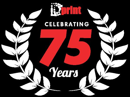 DPrint 75 years