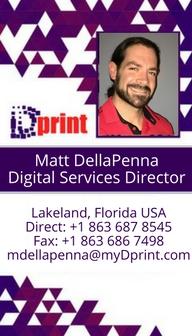 Dprint - Matt DellaPenna