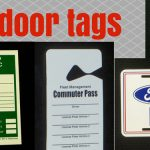DPrint outdoor tags