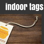 DPrint indoor tags
