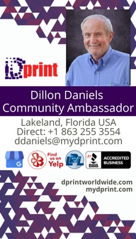 Dillon business card 2018 side 1